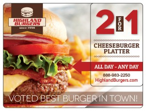 Plastic Postcard Restaurant 1 Burger