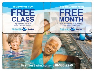 Plastic Postcard Fitness Membership Marketing 12