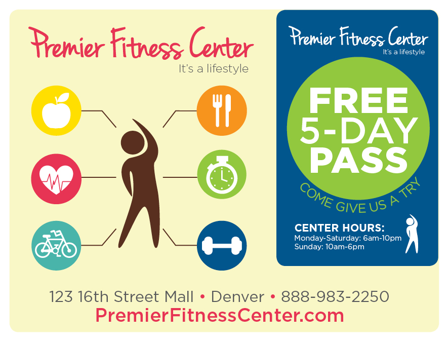 Plastic Postcard Fitness Membership Marketing 2