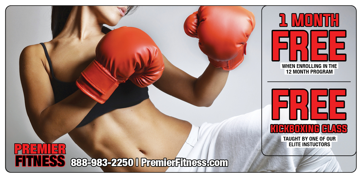 Plastic Postcard Fitness Membership Marketing 5