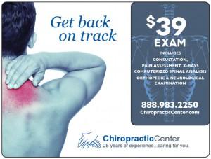 Plastic Postcard Chiropractor 1