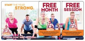 Plastic Postcard Fitness Membership Marketing 17