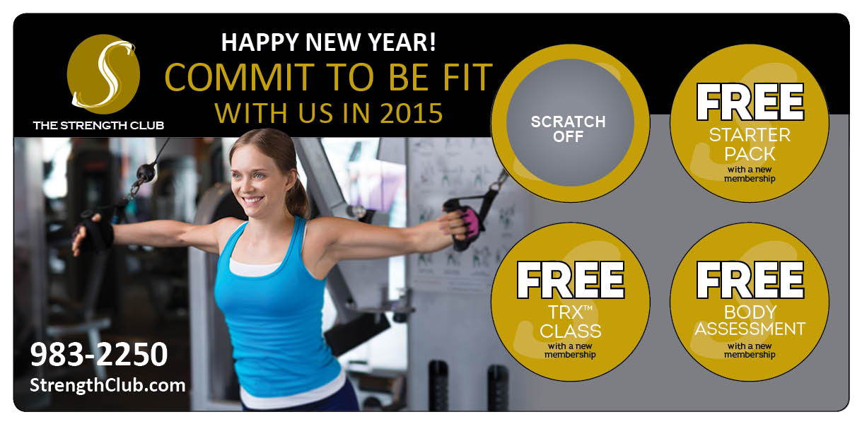 Plastic Postcard Fitness Membership Marketing 16