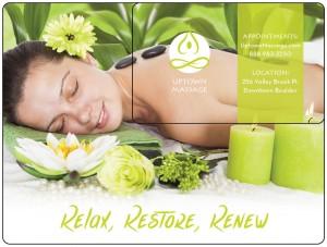 Plastic Postcard Spa Massage 1