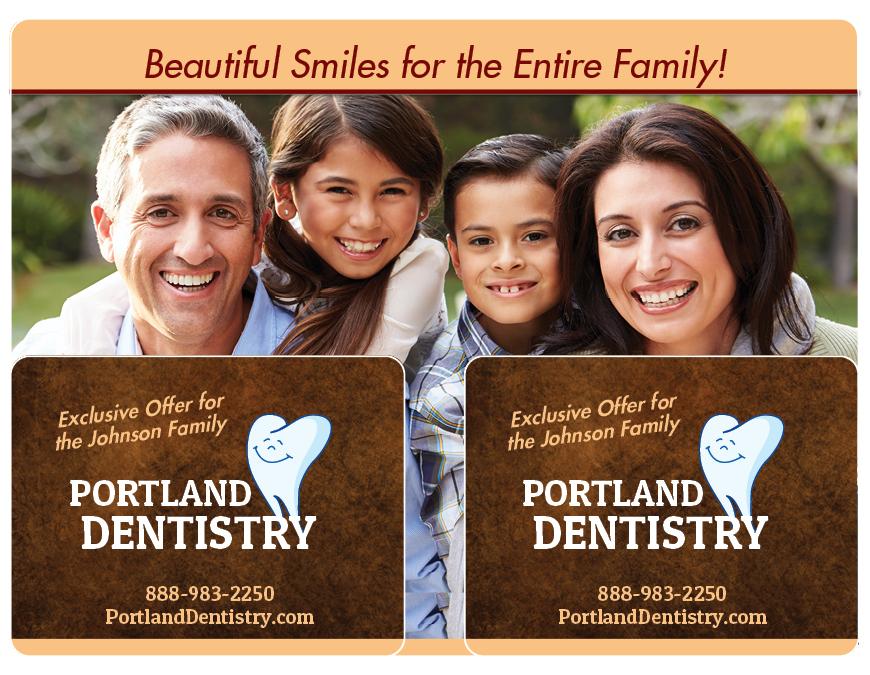 Dental Direct Mail Marketing Postcard 11