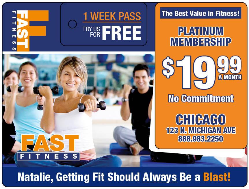 Plastic Postcard Fitness 21