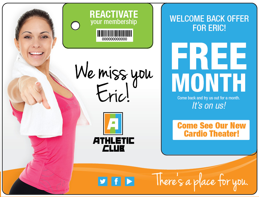 Best Direct Mail Marketing for Gyms & Fitness Clubs | Impact