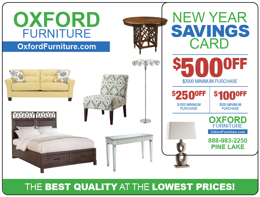 Furniture Direct Mail Marketing Postcard 2