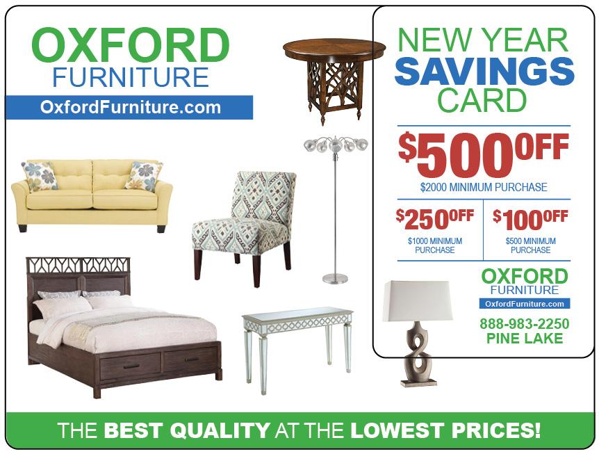Furniture Direct Mail Marketing Postcard 2