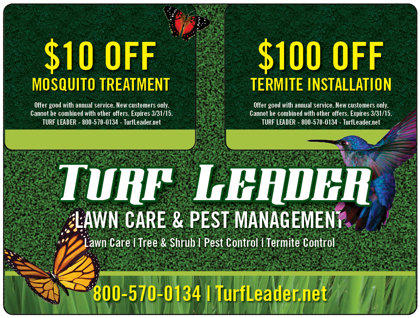 Plastic Postcard Lawn Care