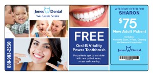 Dental Marketing Postcard 8
