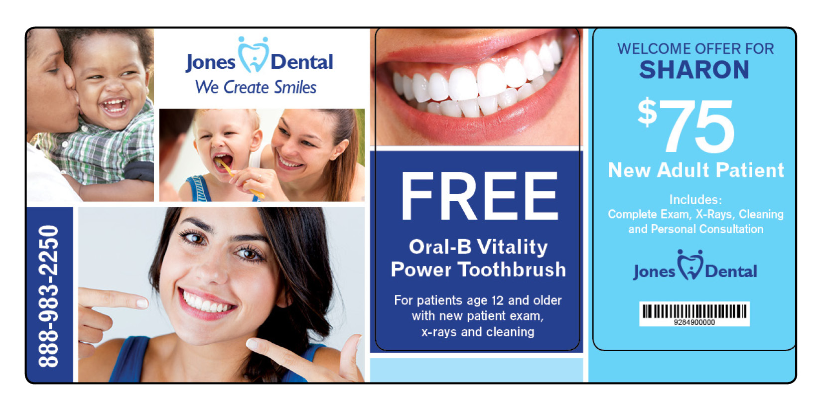 Dental Marketing Postcard 8