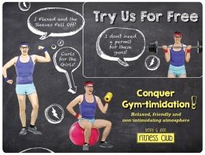 Fitness Club Marketing Mailer 25