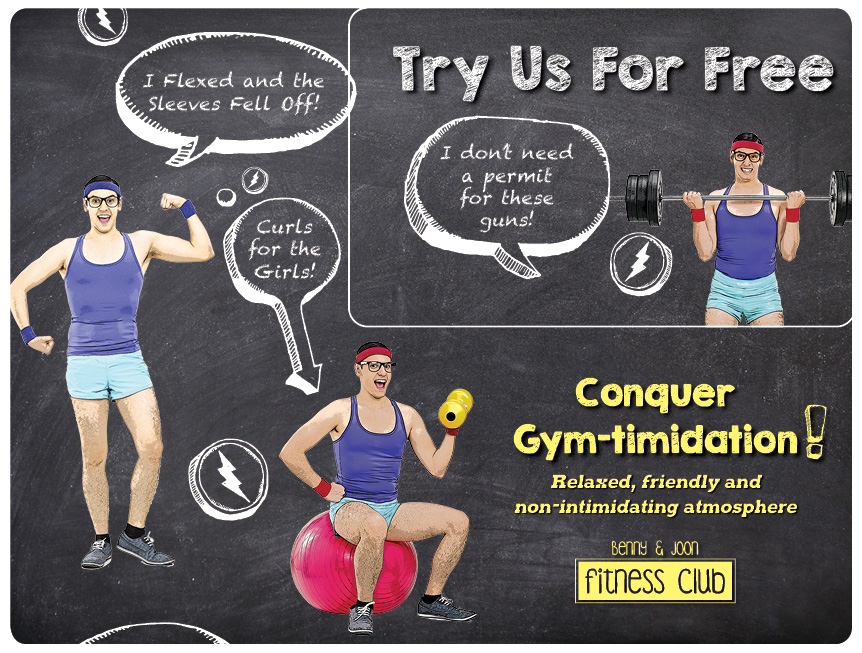 Fitness Club Marketing Mailer 25