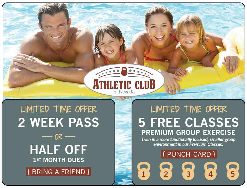 Athletic Club Marketing Mailer