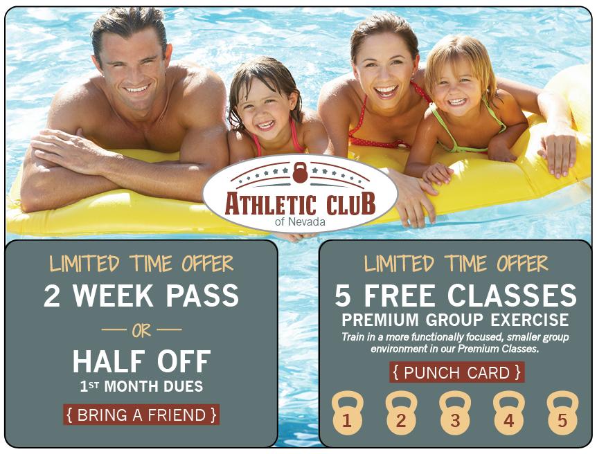 Athletic Club Marketing Mailer