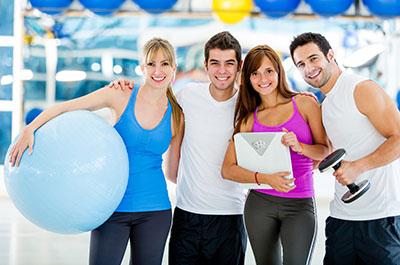 Fitness Club Plastic Mailers