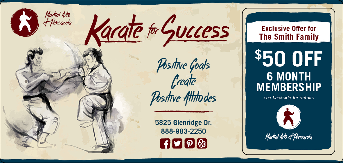 Karate Direct Mail Marketing