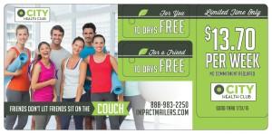 Gym Direct Mail Marketing