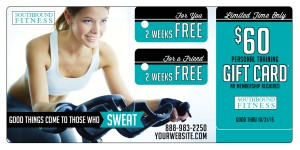 Personal Training Gift Card