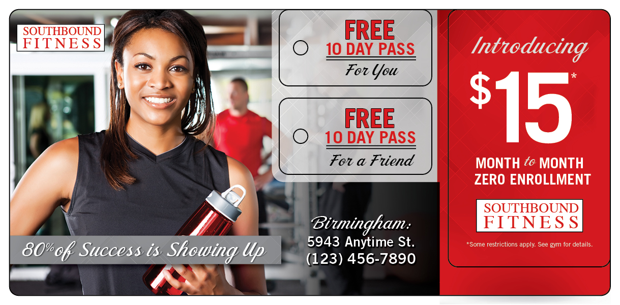 Fitness Club 10 Day Pass