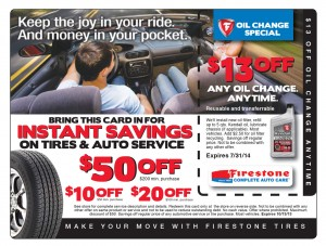 Tire Auto Service Direct Mail