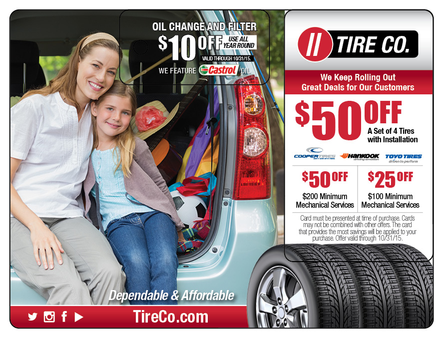 Tire Automotive Direct Mail