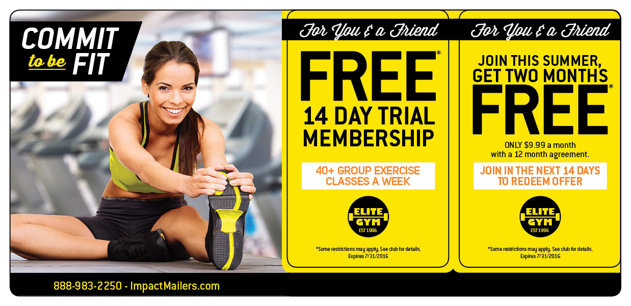 Gym Membership Marketing Direct Mail