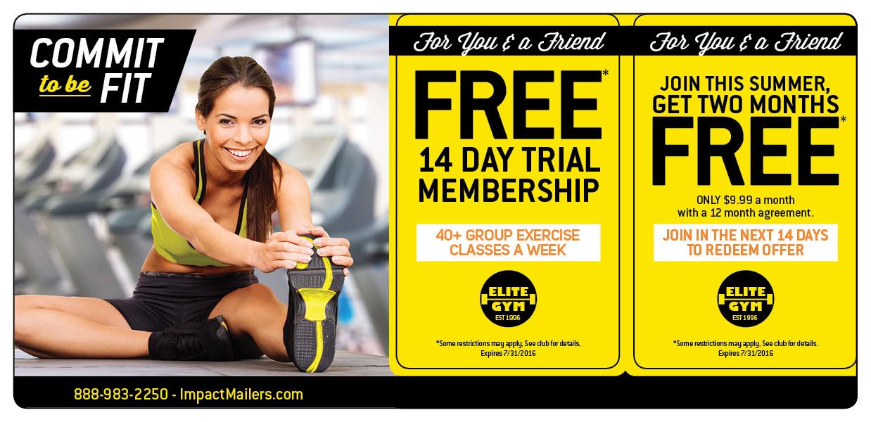 Gym Membership Marketing Direct Mail