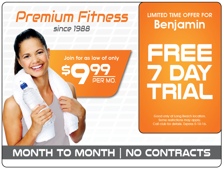 Fitness Club Marketing Direct Mail