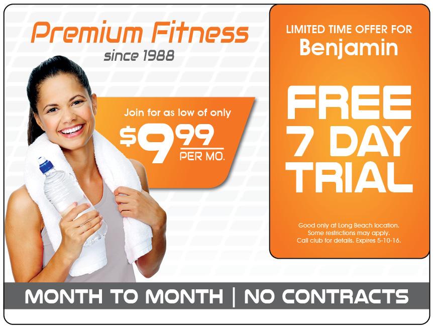 Fitness Club Marketing Direct Mail