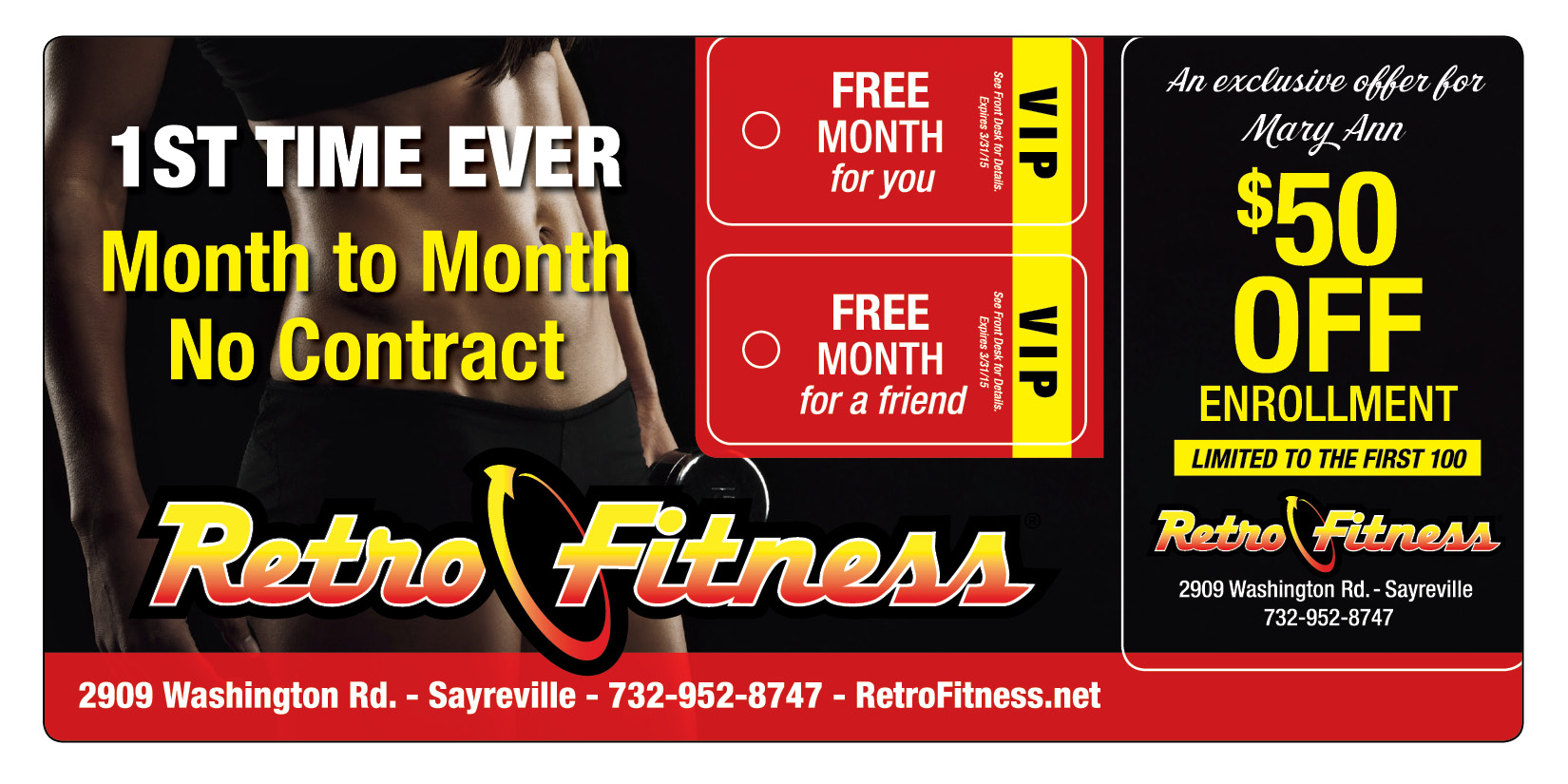 Fitness Club Membership Marketing