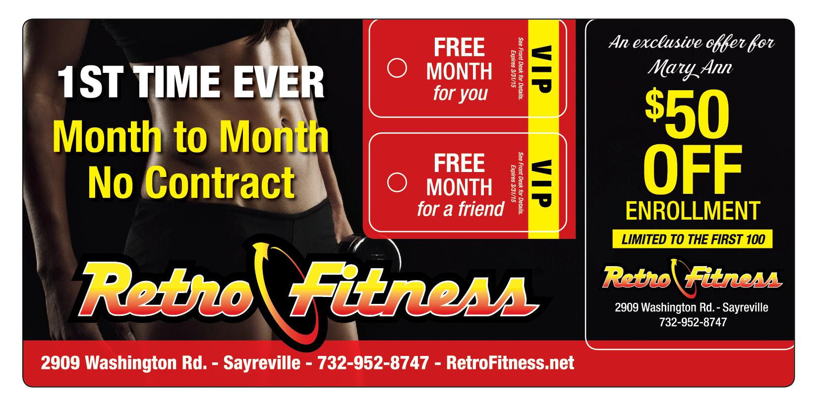 Fitness Club Membership Marketing
