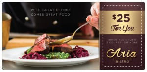 Fine Dining Restaurant Marketing Plastic Mailer | ImpactMailers.com