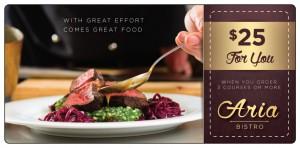 Fine Dining Restaurant Marketing Plastic Mailer | ImpactMailers.com