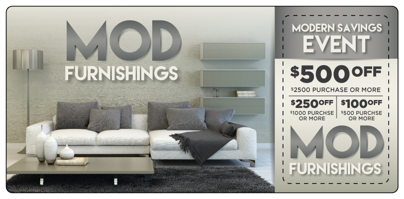 Furniture Marketing Direct Mail Postcard | ImpactMailers.com