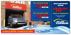 Car Wash Direct Mail Marketing Postcard | ImpactMailers.com