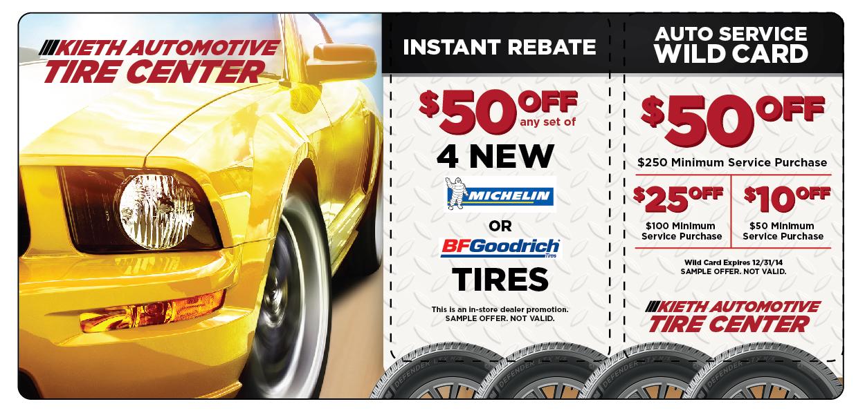 Automotive Tire Service Direct Mail