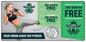 Fitness Marketing Plastic Mailer