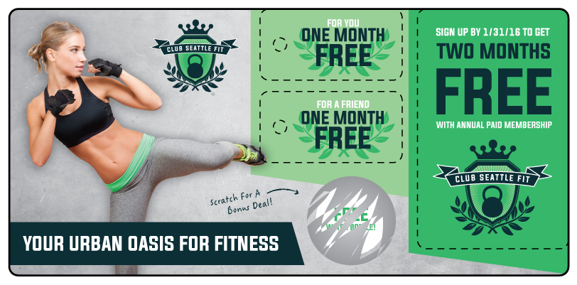 Fitness Marketing Plastic Mailer