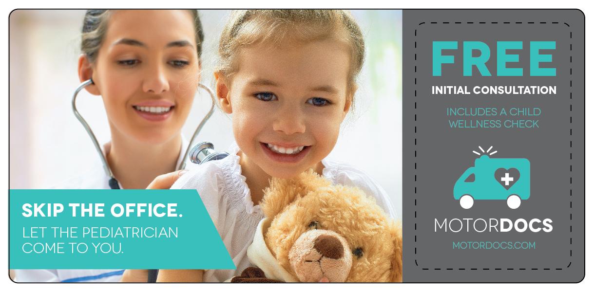 Pediatrician Marketing Direct Mail Postcard