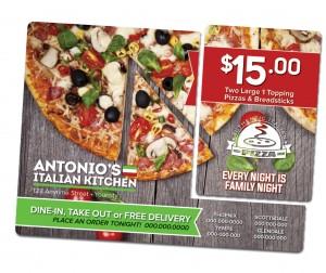 Pizza Impact Mailer