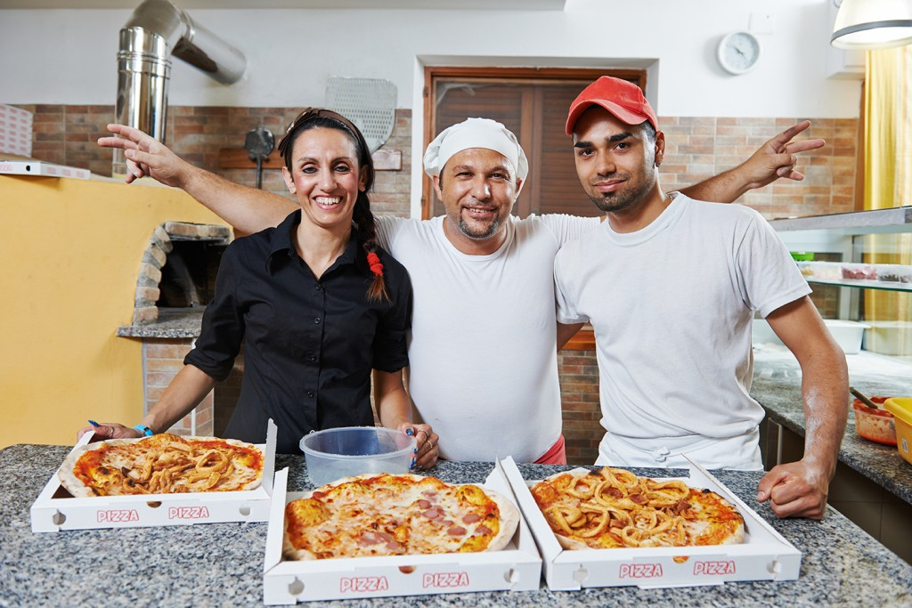 Pizza Restaurant Staff